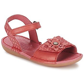 kengät Tytöt Sandaalit ja avokkaat Kickers EVANA Pink / CORAIL