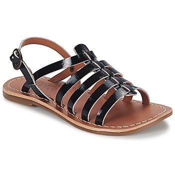 kengät Tytöt Sandaalit ja avokkaat Kickers DIXMILLION Black