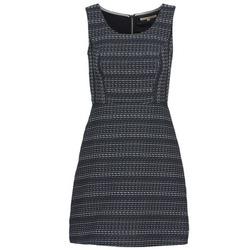 vaatteet Naiset Lyhyt mekko Tom Tailor BLANKA Laivastonsininen / White