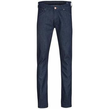 vaatteet Miehet Slim-farkut Wrangler Larston W18S6274J navy