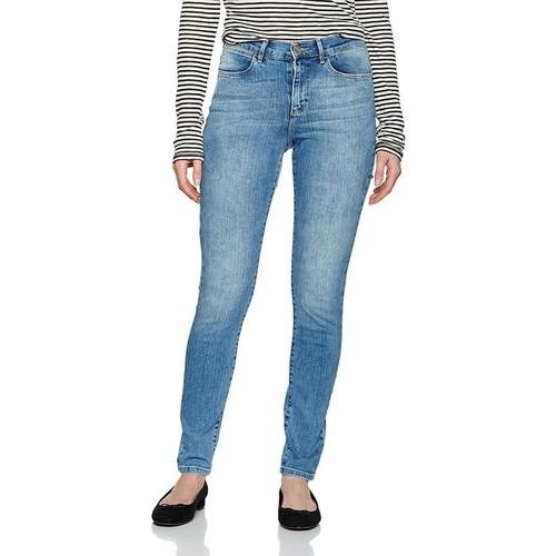 vaatteet Naiset Skinny-farkut Wrangler ® High Rise Skinny 27HX794O blue