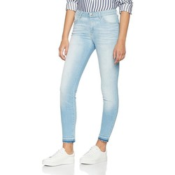 vaatteet Naiset Skinny-farkut Wrangler Skinny Sunkissed W28KLE86K blue