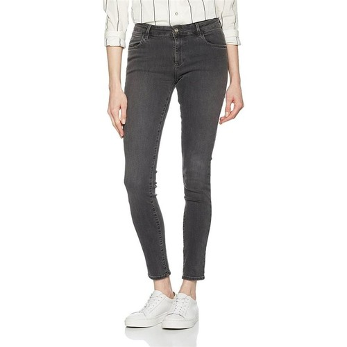 vaatteet Naiset Skinny-farkut Wrangler Skinny Ash W28KLX86O grey