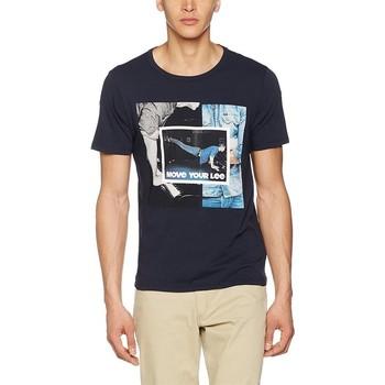 vaatteet Miehet Lyhythihainen t-paita Producent Niezdefiniowany Lee® Photo Tee 60QEPS blue