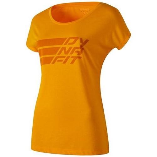 vaatteet Naiset Lyhythihainen t-paita Dynafit Compound Dri-Rel Co W S/s Tee 70685-4630 orange