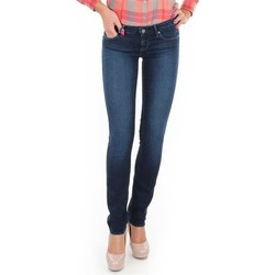 vaatteet Naiset Skinny-farkut Wrangler Jeansy  Skyline W26FX754R blue