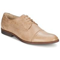 kengät Miehet Derby-kengät Carlington PURP BEIGE