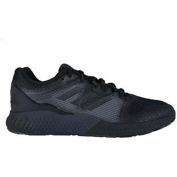 kengät Miehet Matalavartiset tennarit adidas Originals Aerobounce ST M Mustat, Harmaat
