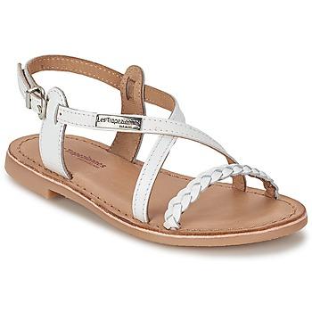 kengät Tytöt Sandaalit ja avokkaat Les Tropéziennes par M Belarbi BALADIN White