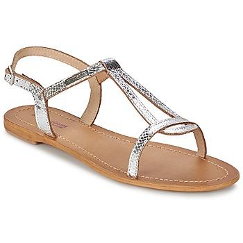 kengät Naiset Sandaalit ja avokkaat Les Tropéziennes par M Belarbi HAMAT Argenté