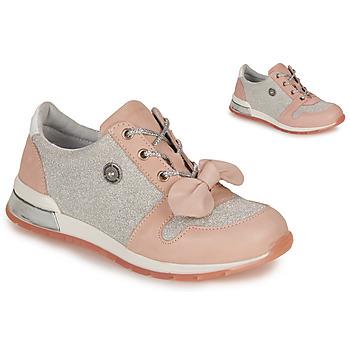 kengät Tytöt Matalavartiset tennarit Catimini BANJO Vaaleanpunainen