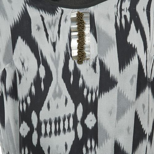 One Step Rosasite Grey / White - Ilmainen Toimitus- Vaatteet Lyhyt Mekko Naiset 101