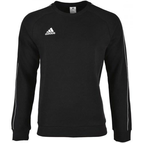 vaatteet Miehet Svetari adidas Originals Core 18 Sweat Top Mustat