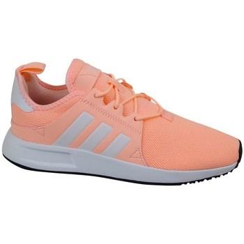 kengät Lapset Matalavartiset tennarit adidas Originals X Plr J Vaaleanpunaiset
