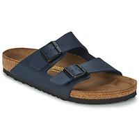 kengät Miehet Sandaalit Birkenstock ARIZONA LARGE FIT Blue