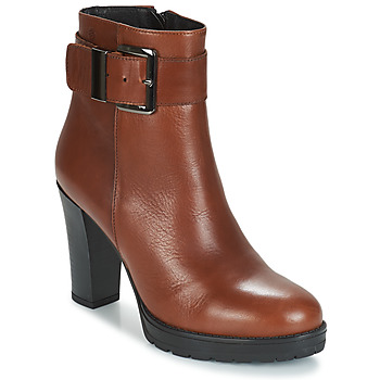 kengät Naiset Nilkkurit Betty London JARAMBOLE Ruskea