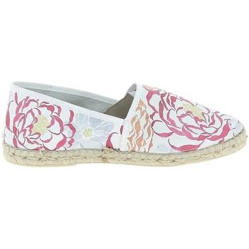 kengät Naiset Espadrillot La Maison De L'espadrille Camelia Blanc Valkoinen