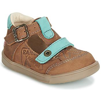 kengät Pojat Sandaalit ja avokkaat GBB AREZO Brown / Blue