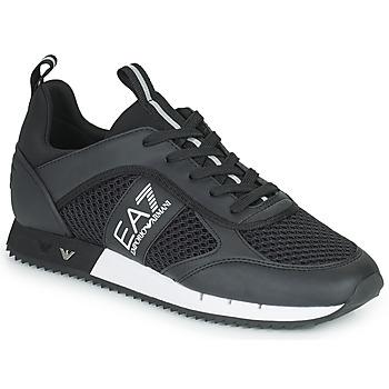kengät Matalavartiset tennarit Emporio Armani EA7 LACES U Black