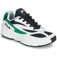 kengät Miehet Matalavartiset tennarit Fila VENOM LOW White / Green