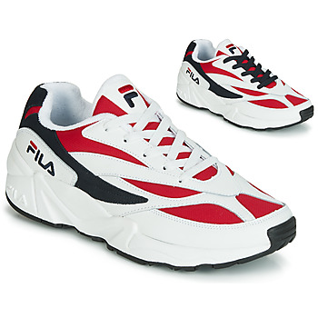 kengät Miehet Matalavartiset tennarit Fila VENOM LOW White / Red