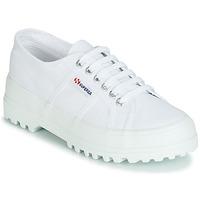 kengät Naiset Matalavartiset tennarit Superga 2555 COTU White