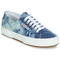 kengät Matalavartiset tennarit Superga 2750 TIE DYE DENIM Sininen