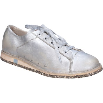 kengät Naiset Matalavartiset tennarit Moma sneakers argento pelle BT47 Argento