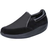 kengät Naiset Tennarit Mbt slip on nero camoscio tessuto performance BT99 Nero