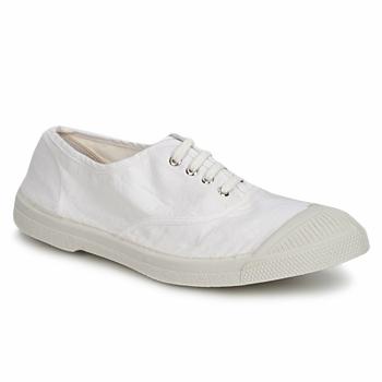 kengät Naiset Matalavartiset tennarit Bensimon TENNIS LACET White