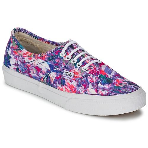 kengät Naiset Matalavartiset tennarit Vans AUTHENTIC SLIM Violet