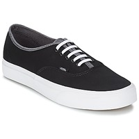 kengät Miehet Korkeavartiset tennarit Vans AUTHENTIC Black / Grey