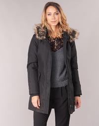 vaatteet Naiset Parkatakki Only ONLKATY Black