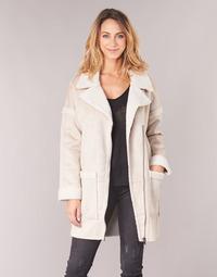 vaatteet Naiset Paksu takki Only ONLFELICITY Beige