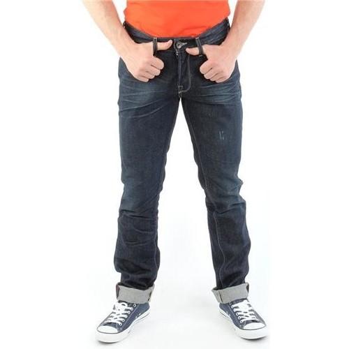 vaatteet Miehet Slim-farkut Guess Brit Rocker M14072D0HN0 CODU navy