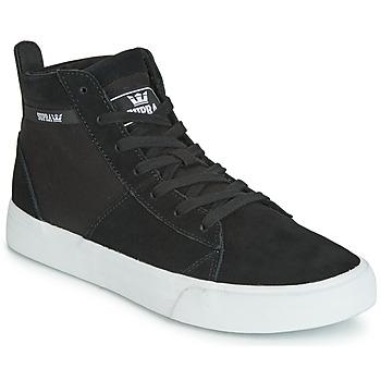 kengät Korkeavartiset tennarit Supra STACKS MID Black