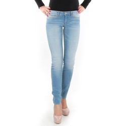 vaatteet Naiset Skinny-farkut Wrangler Caitlin Blue Baloo W24CH145X blue