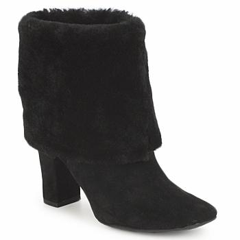 kengät Naiset Nilkkurit Rockport HELENA CUFFED BOOTIE Black