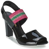 kengät Naiset Sandaalit ja avokkaat Sonia Rykiel 683902 Black / Pink
