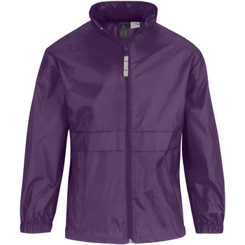 vaatteet Lapset Tuulitakit B And C Sirocco Purple