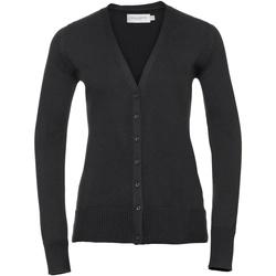 vaatteet Naiset Neuleet / Villatakit Russell 715F Black