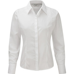 vaatteet Naiset Paitapusero / Kauluspaita Russell 924F White