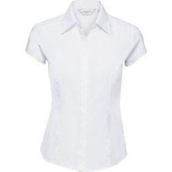 vaatteet Naiset Paitapusero / Kauluspaita Russell 925F White