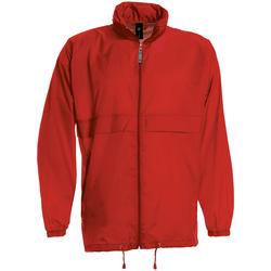 vaatteet Miehet Tuulitakit B And C JU800 Red