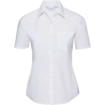 vaatteet Naiset Paitapusero / Kauluspaita Russell 935F White
