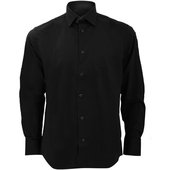 vaatteet Miehet Pitkähihainen paitapusero Russell 946M Black