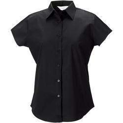 vaatteet Naiset Paitapusero / Kauluspaita Russell 947F Black