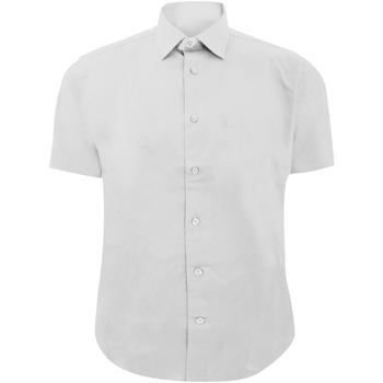 vaatteet Miehet Lyhythihainen paitapusero Russell 947M White