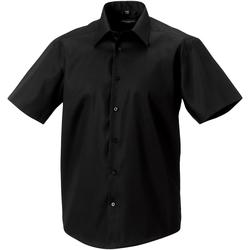 vaatteet Miehet Lyhythihainen paitapusero Russell 959M Black