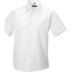 vaatteet Miehet Lyhythihainen paitapusero Russell 959M White